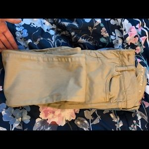 Khaki pants, America eagle. Not worn that often